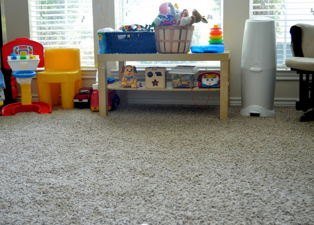 Kids and Clutter, clean room