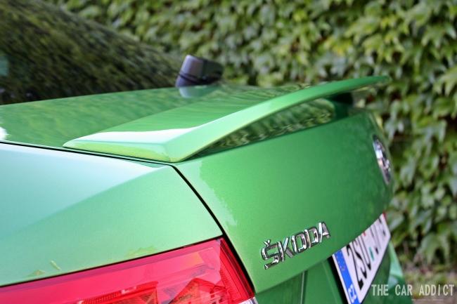 Skoda Octavia RS Spoiler