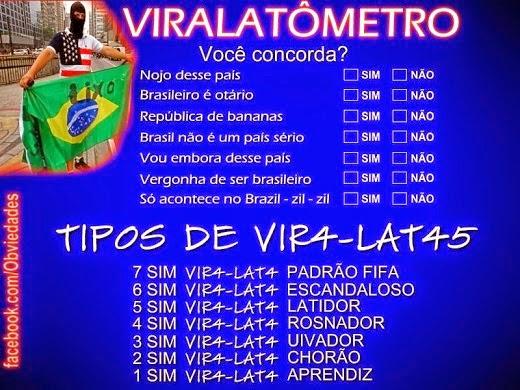 ABAIXO OS VIRA-LATAS!