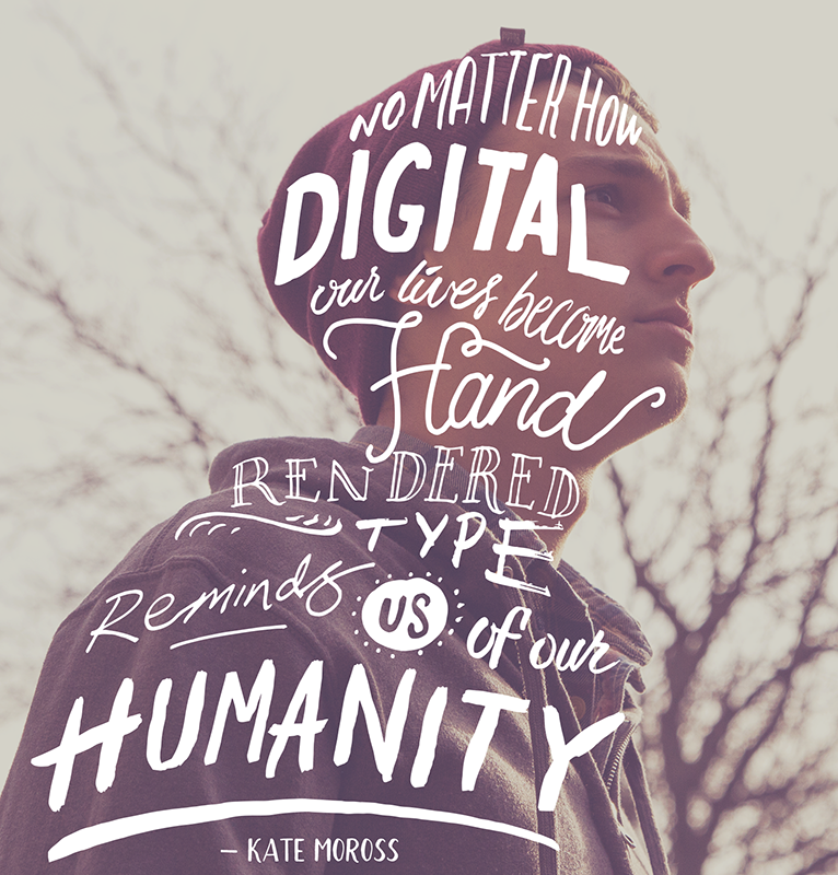 Humanity - Hand Lettering by Ian Barnard