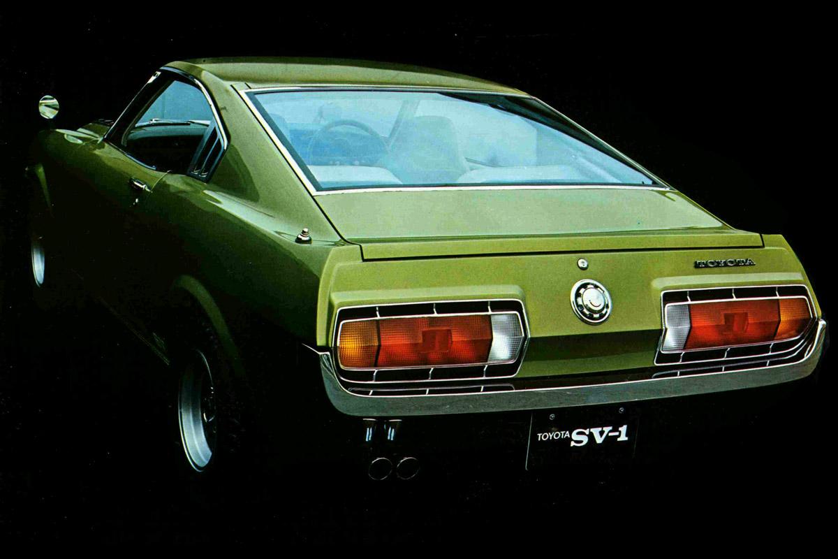 Toyota SV-1, Celica, liftback, koncept, prototyp, Tokyo Motor Show 1971