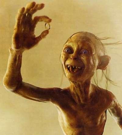 Qual é o teu filme preferido?  Gollum