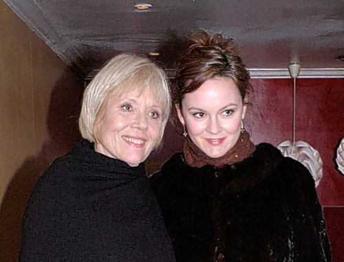 Image result for rachael stirling diana rigg doctor who