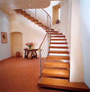 Fabricación de escaleras de madera