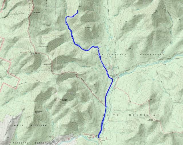 Owl Map Owls Head nh Trail Map