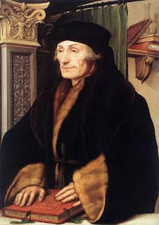 Erasmo de Rotterdam - Hans Holbein El Joven