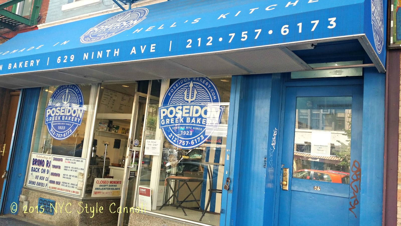 Poseidon Greek Bakery | NYC, Style & a little Cannoli