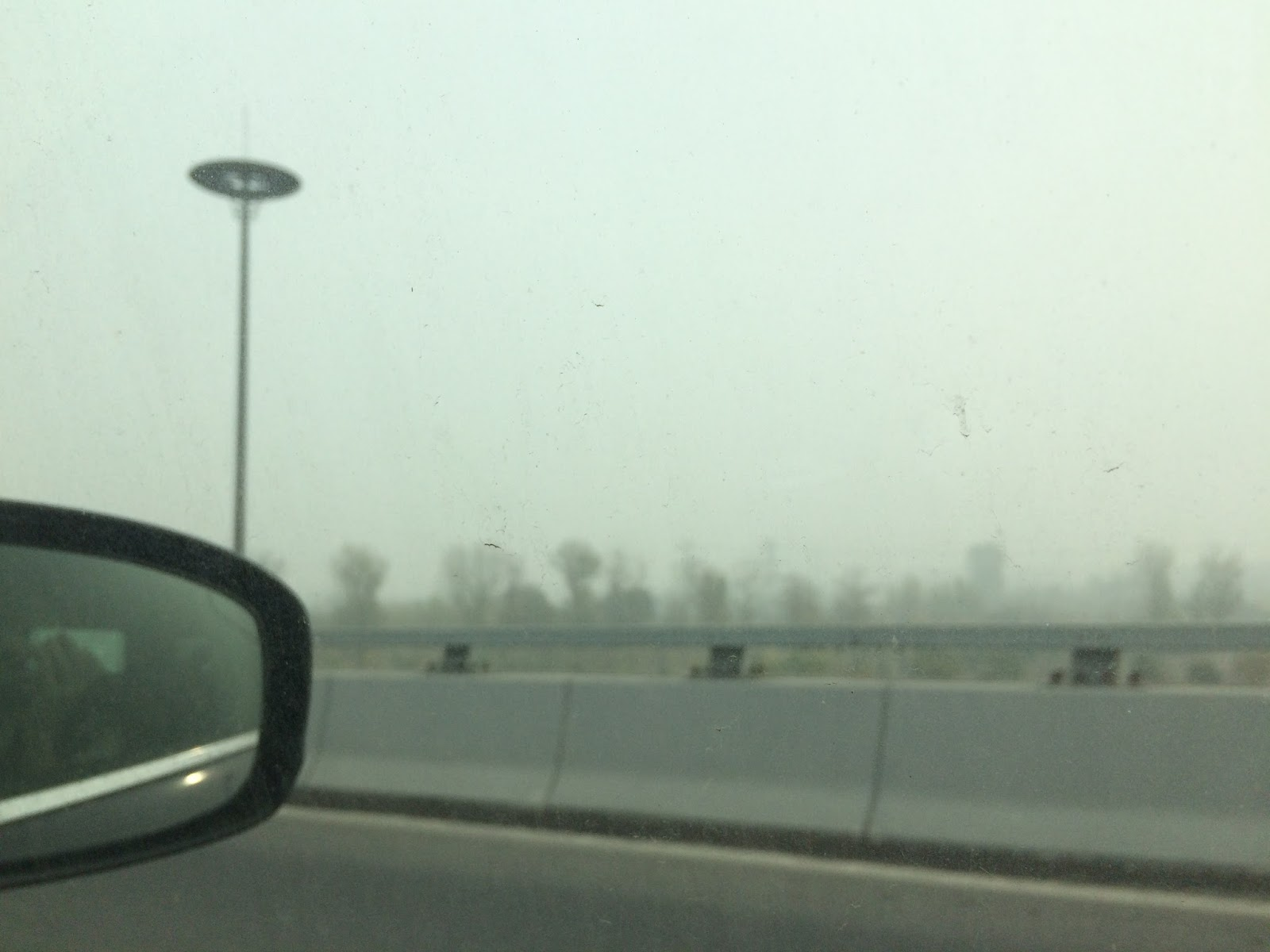 Family, Smog, Leaves – A Weekend in Beijing