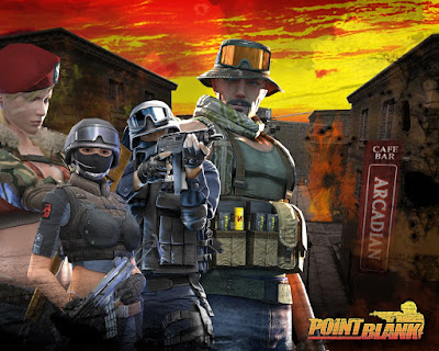 game pc online Point Blank / PB terbaru 2012