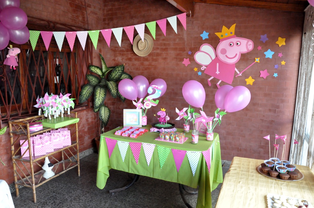 Decoracin cumpleaos Peppa Pig Chica outlet