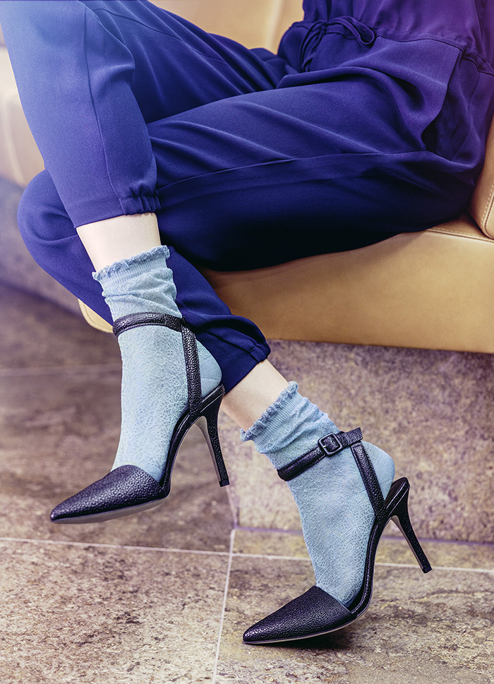 Falke Hosiery Blue Socks