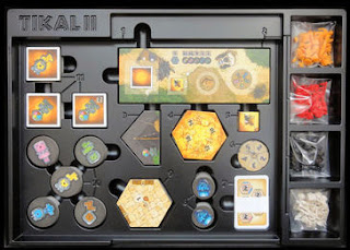 Inserto del juego de mesa Tikal II