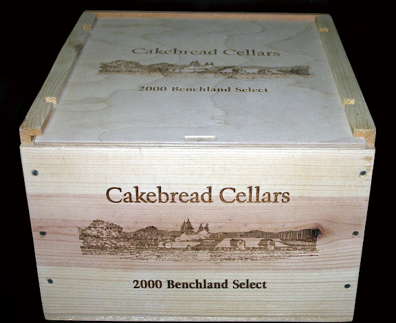 Winery Cakebread Cellars & Wooden Wine Boxes u0026 Wine Crates: Cakebread Cellars