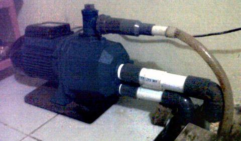 cara memperbaiki Pompa Air yang rusak