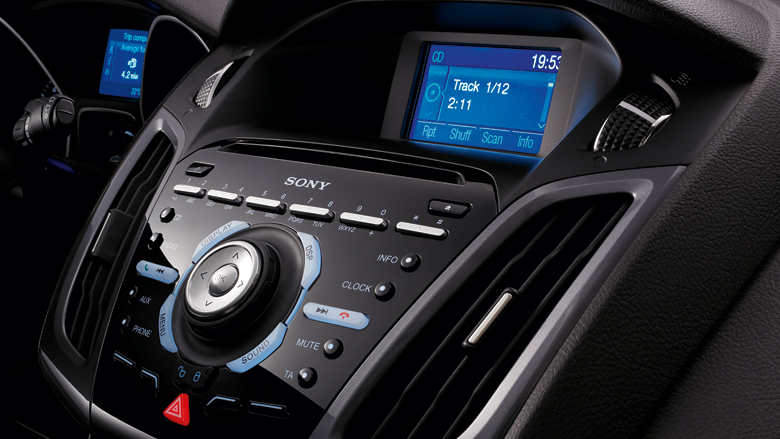 Ford Focus Sony Premium Sound System