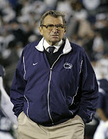 Joe Paterno is going on a Skype hunt for recruits.