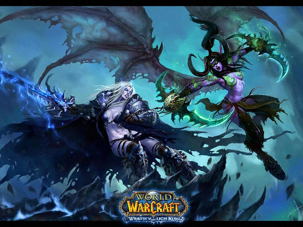 World of Warcraft HD & Widescreen Wallpaper 0.194845702275874
