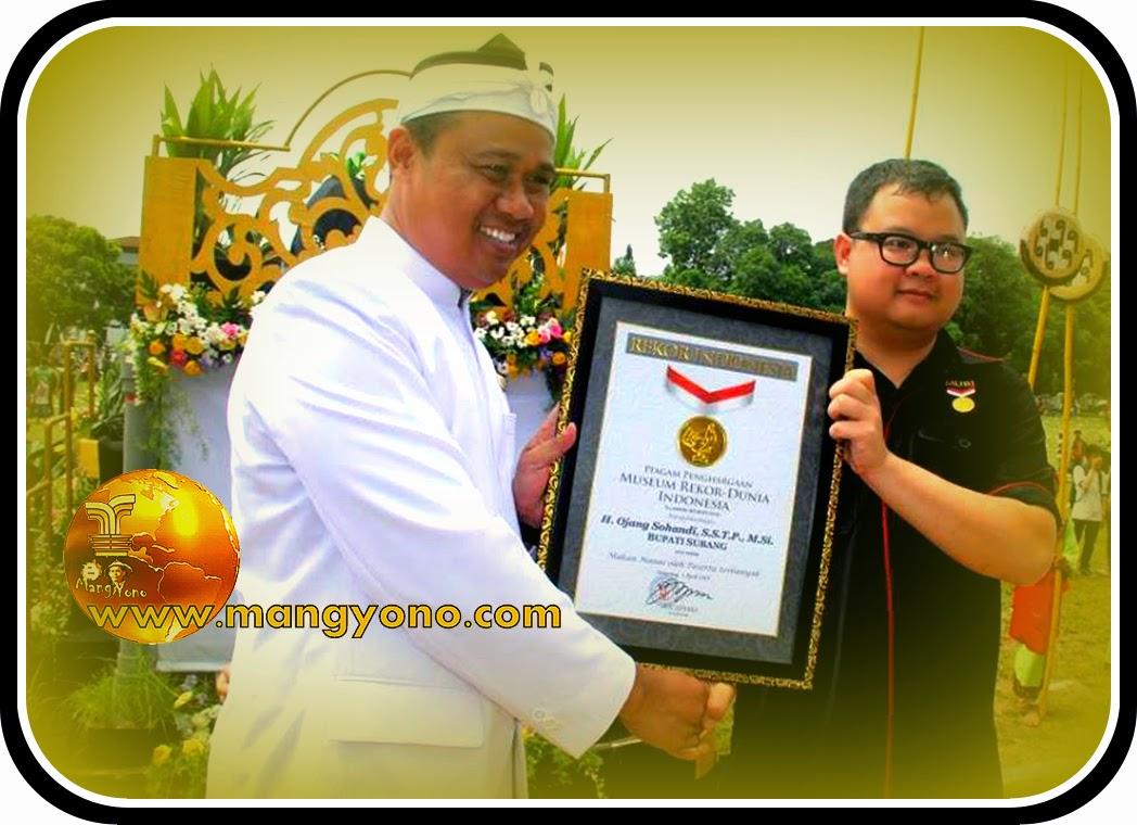 Kabupaten Subang mendapat rekor MURI Toleat dan Nanas