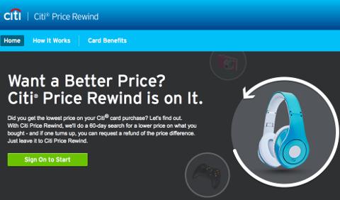 Citi Price Rewind