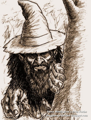 Pombero, cuidador del monte y los animales salvajes - El Mundo de la Fantasia - Seres Mitologicos y de la Noche - imagenespreferidas.blogspot.com