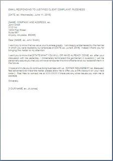 Apology Letter To Customer For Misbehavior