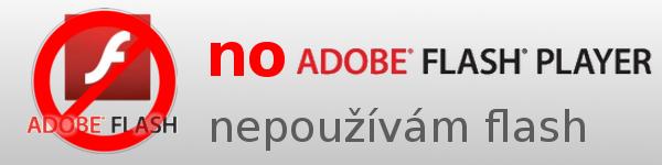 Proč nepoužívám Adobe Flash?
