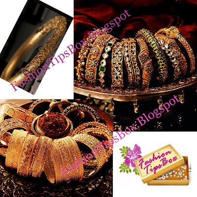 Gold Collections of Bangles