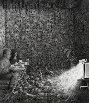 Gambar-Gambar Ilustrasi Karya Laurie Lipton