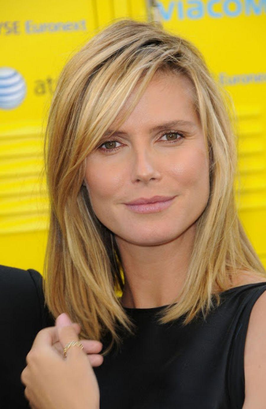 Bangs With Shoulder Length Hairstyle : New shoulder length haircuts no bangs fashionip