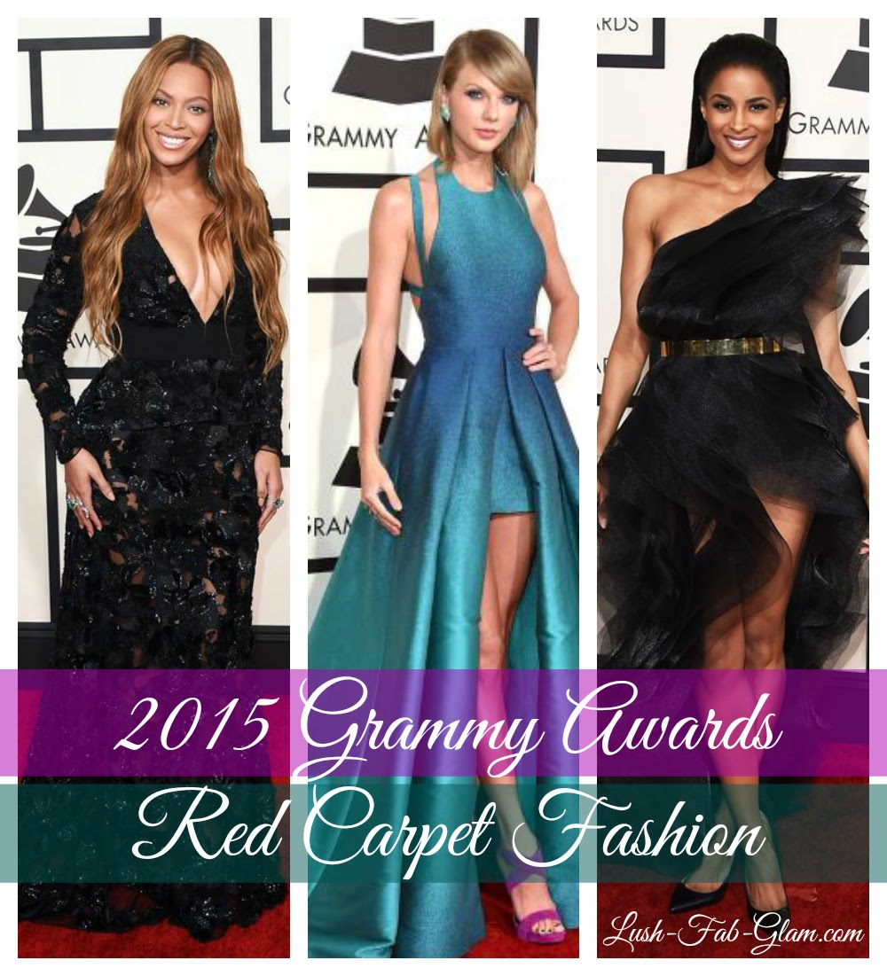 The Glitz, Glam and  Fabulous Fashion At The 2015 Grammy Awards.