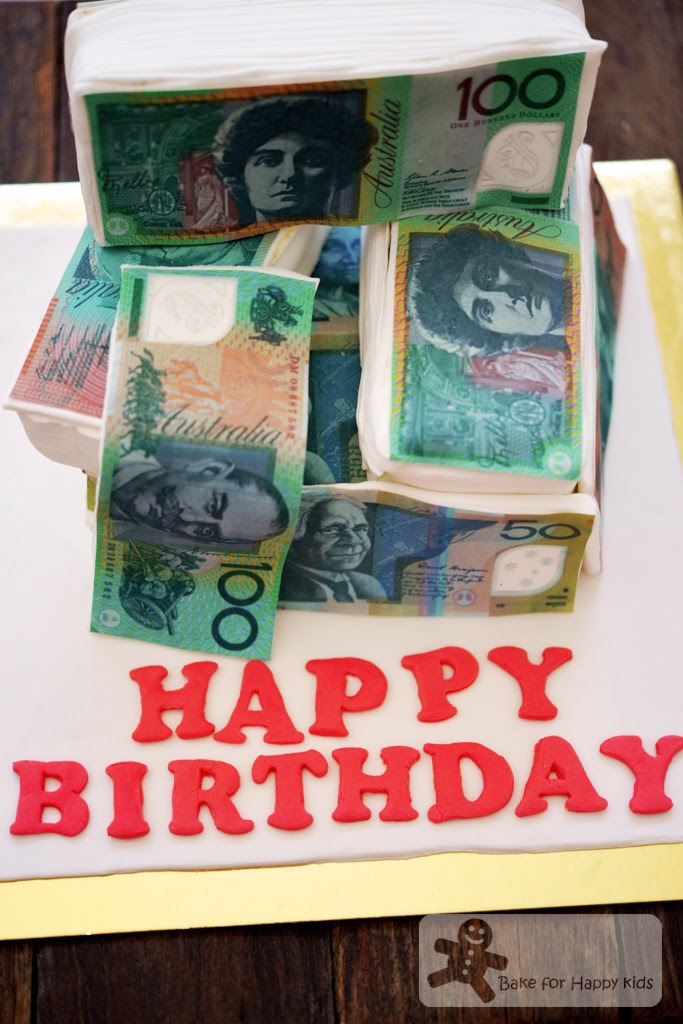money dollar cake