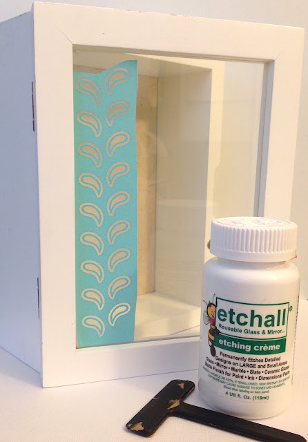 etchall glass etching creme with silkscreen