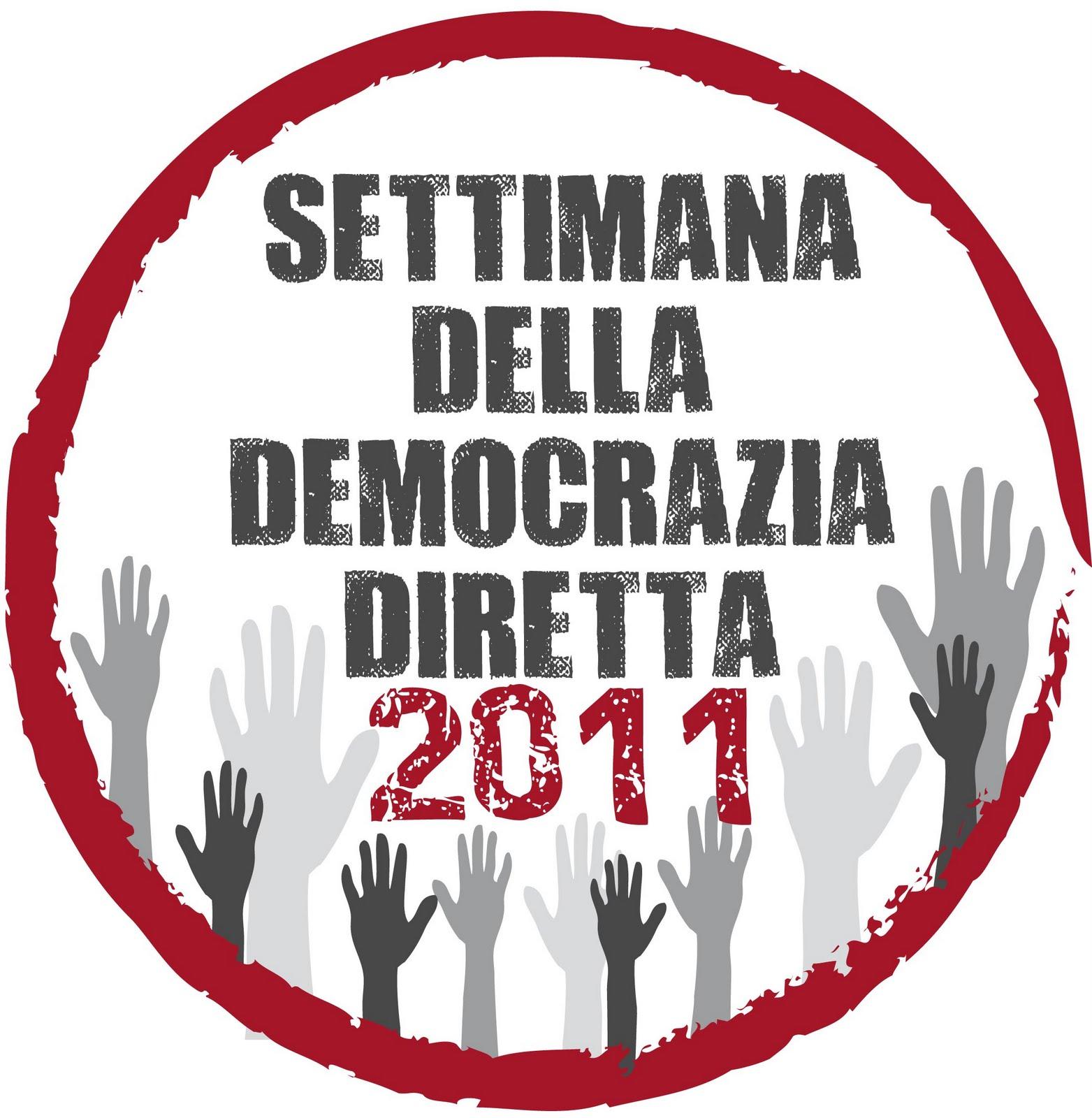 Io decido settimana della democrazia diretta for Diretta dal parlamento