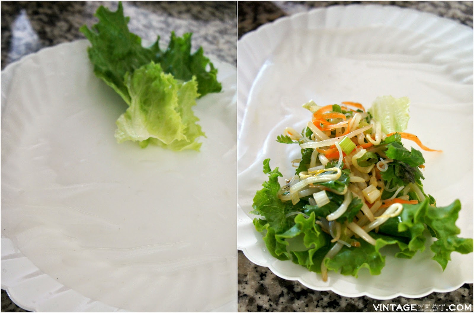 Vietnamese-Style Fresh Spring Rolls on Diane's Vintage Zest!  #recipe #healthy #fresh