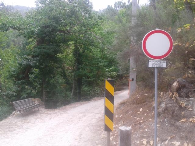 Zona de transito proibido