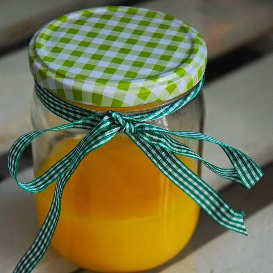 Lemon curd z samych żółtek