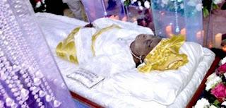 Hannah Idowu Dideolu Awolowo's final journey