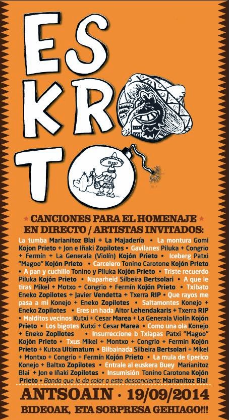 CARTEL CON INVITADOS