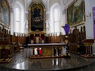 устройство католического храма алтарь
