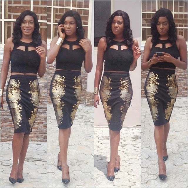 Chika Ike Looks Are Just So Perfect For The Evening! Check Out Those Jaw- Dropping Looks HERE!
