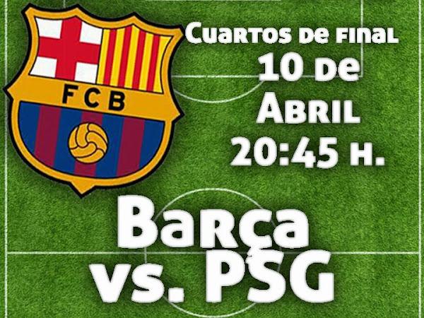 InfoDeportiva - Informacion al instante. PARIS SAINT-GERMAIN VS FC BARCELONA