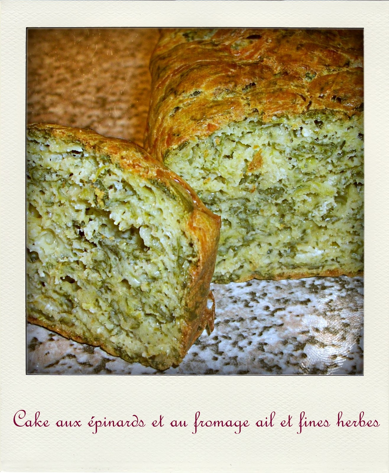 Cake Sale Ail Fines Herbes
