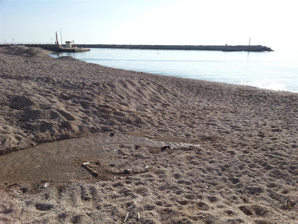 morte in spiaggia del fosso di Fanello