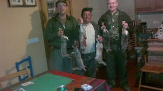 Día de caza del conejo