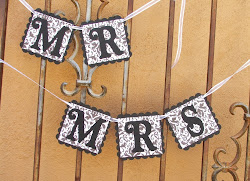 Mr & Mrs Wedding Banners