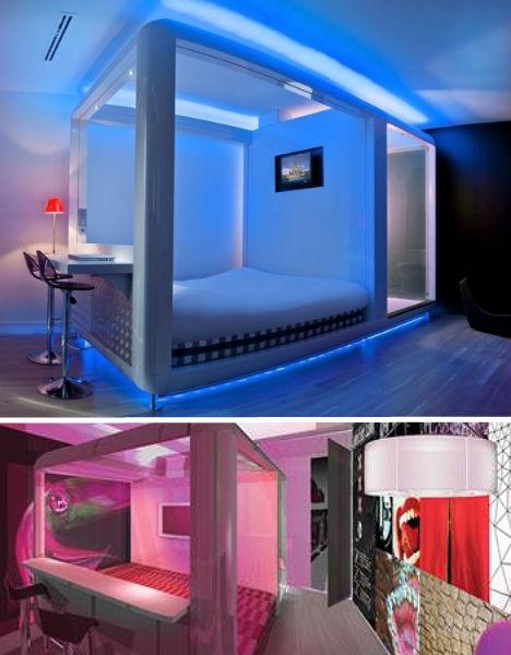 14 quirky artsy elegant hotels in netherlands hotels for Qbic hotel amsterdam