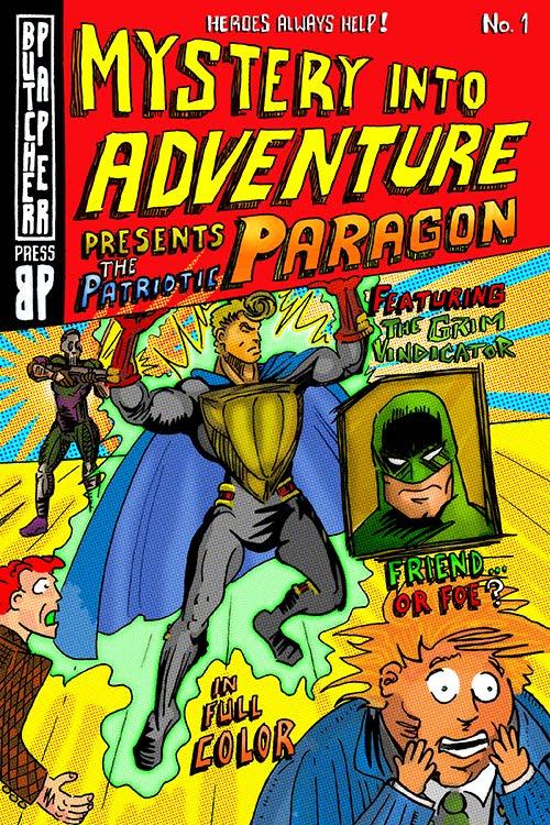 Read the Patriotic Paragon comic