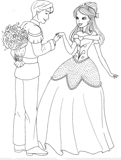 Desenho como desenhar Barbie em vestidos de princesas pintar e colorir