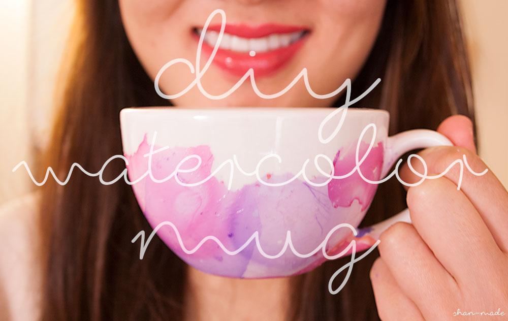 Diy Coffee Mugs With Nail Polish Diy Watercolor Mugs With Nail