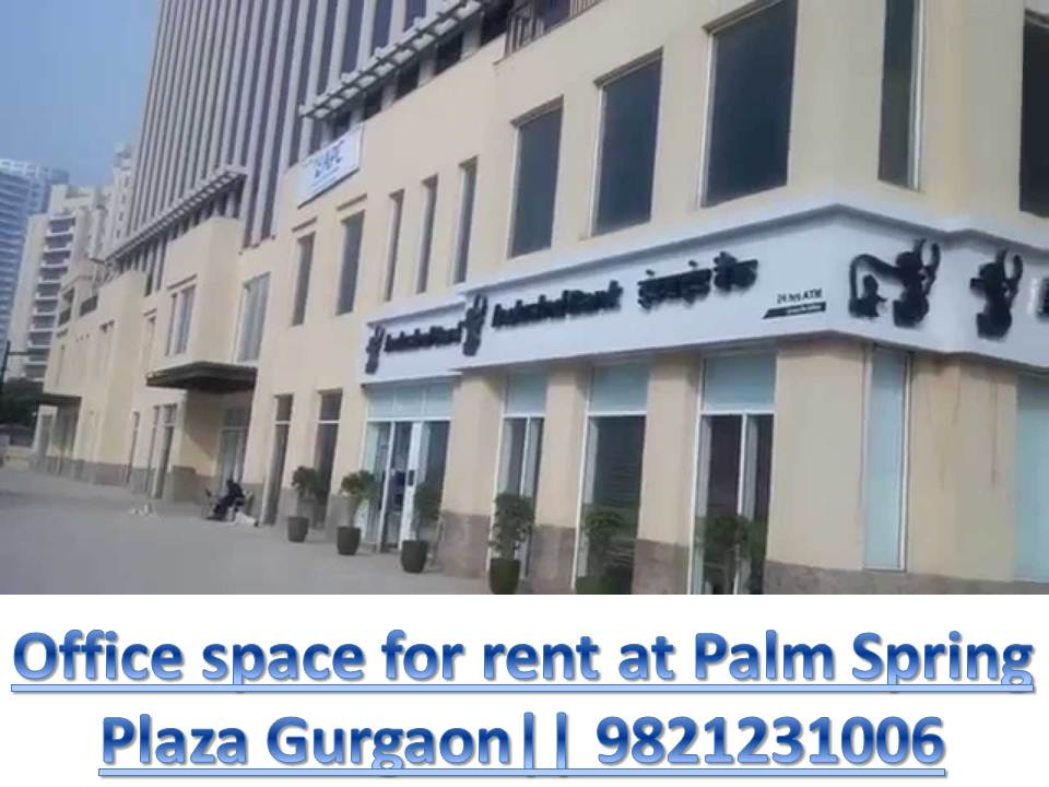 Office space at Palm Spring plaza